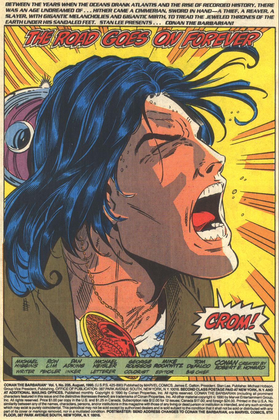 Conan the Barbarian (1970) Issue #235 #247 - English 2