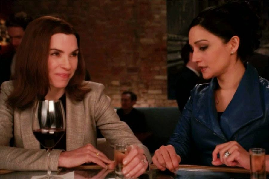 The Good Wife - Season Finale - Julianna M. and Archie P. Didn't Shoot the Scene Together