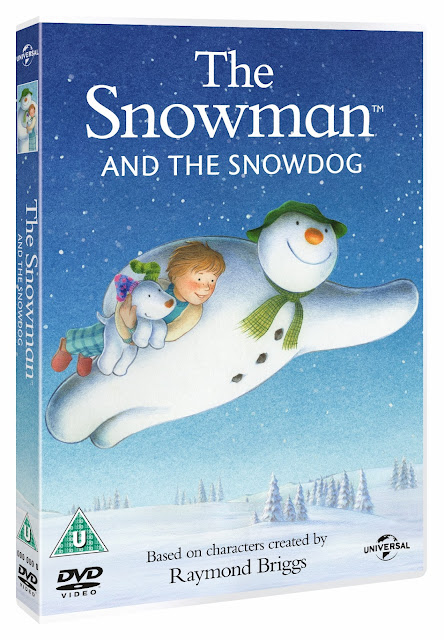 The Snowman and The Snowdog DVD, The Snowman sequel, Christmas movie