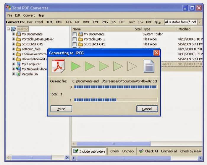 تنزيل برنامج تحويل البي دي اف كامل دونلود Total PDF Converter 2014