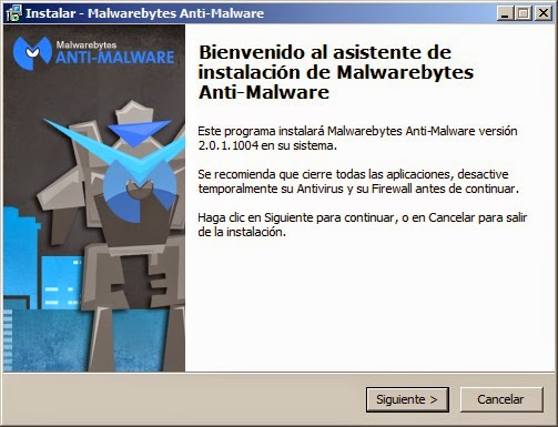 Malwarebytes Siguiente