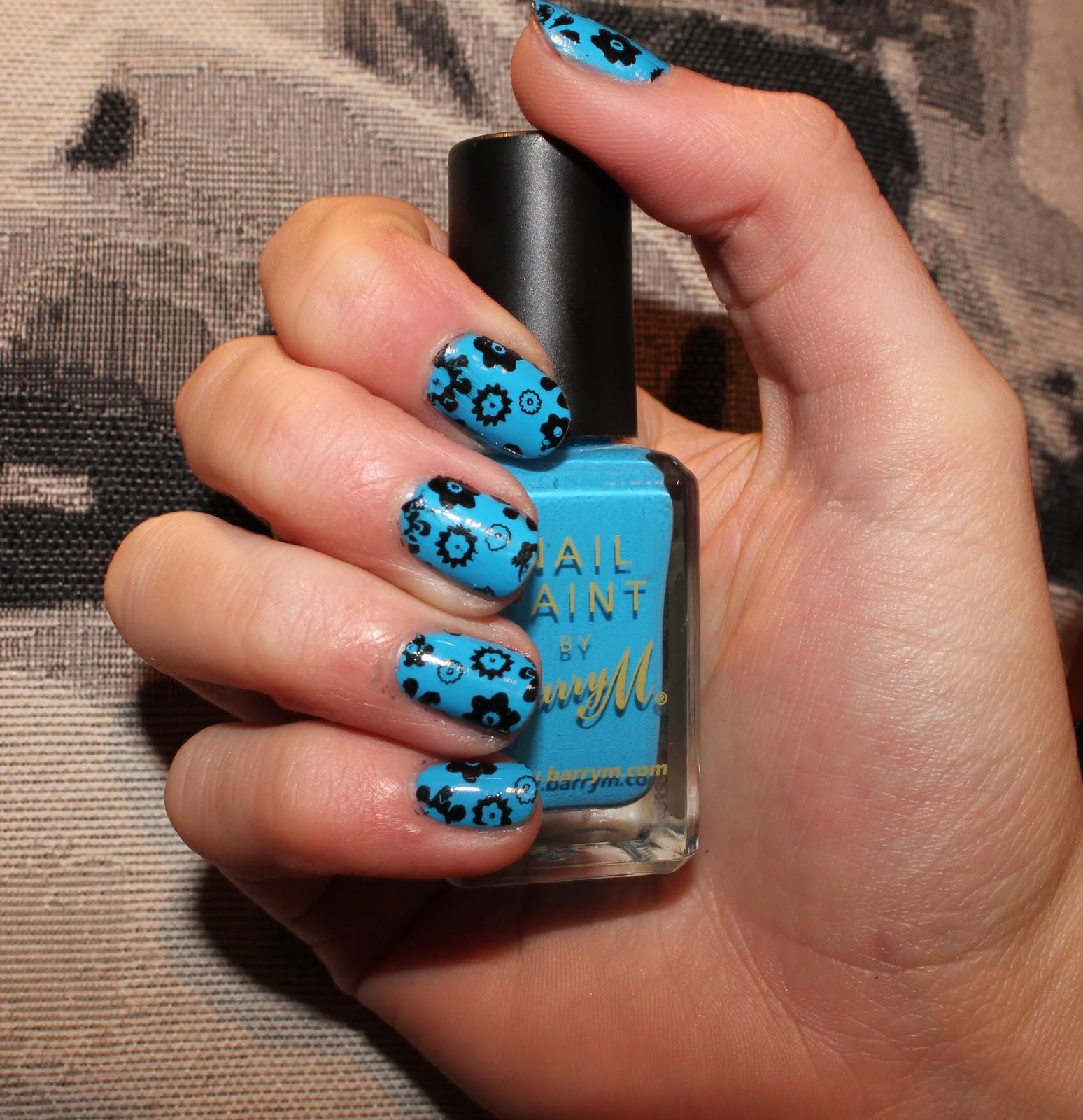 Manicure Monday Moyou Nail Art Nail Stamping Ami Rose