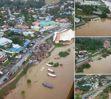 Gambar Banjir Di Bandar Kuching
