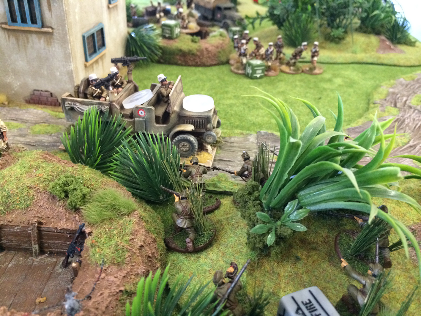 bolt action aar japanese vs the french foreign legion wwpd