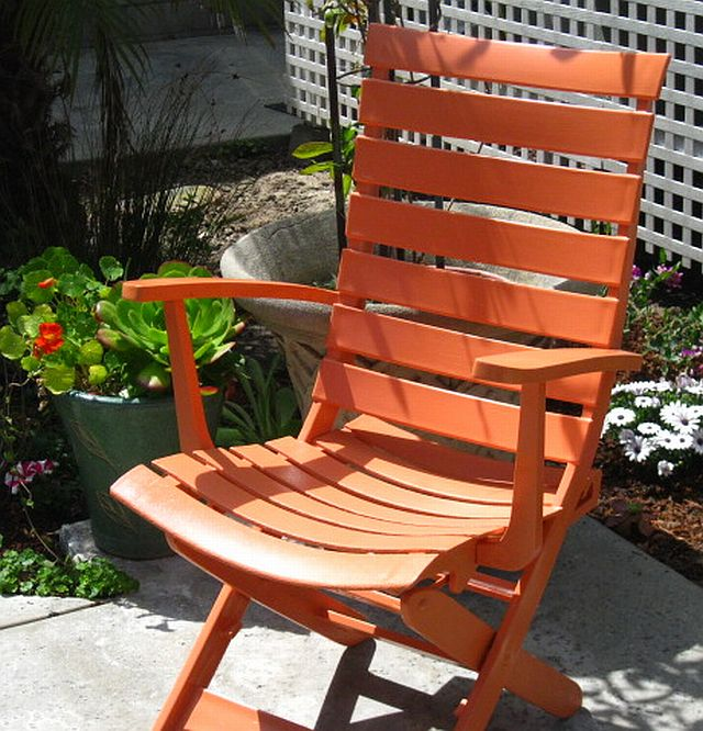 Sunset Coast Painting Plastic Patio Furniture a trash to treasure makeover