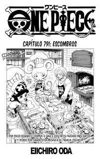 One Piece 791 Mangá Português leitura online
