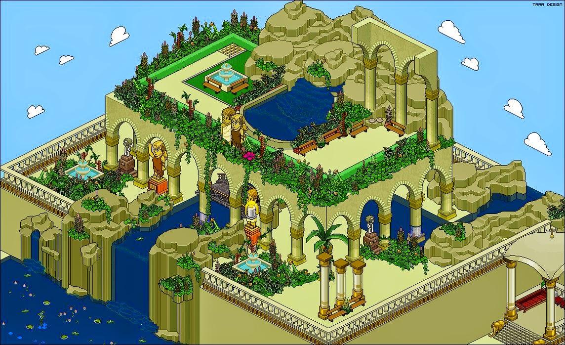 De maravillas a maravillas for Los jardines colgantes de babilonia