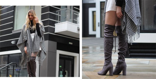 How to style Stuart Weitzman boots fashion blog