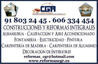 CGR Construcciones y Pavimentos de madera