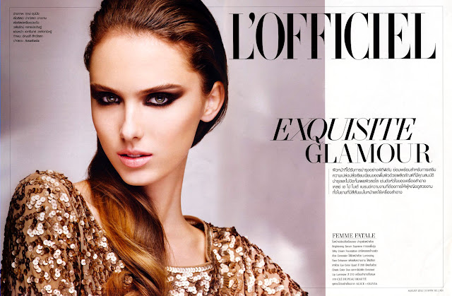 Nastya Balagurova for L'Officiel Thailand