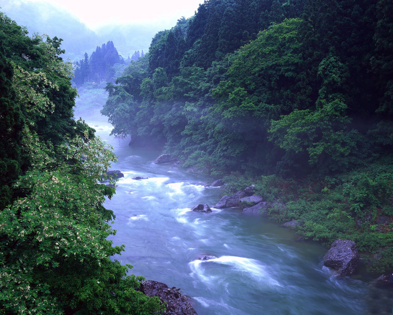 flowing river wallpaper - photo #12