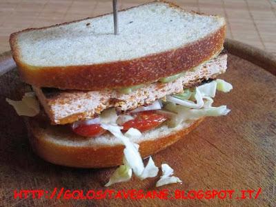 confit, maionese, pane, pane in cassetta, Panini, panino, pomodorini, ricette vegan, sandwich, stagionato, vegrino, verzotti, zenzero, zucca,