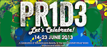Second Pride Festival<br>June 14th - 23rd, 2013