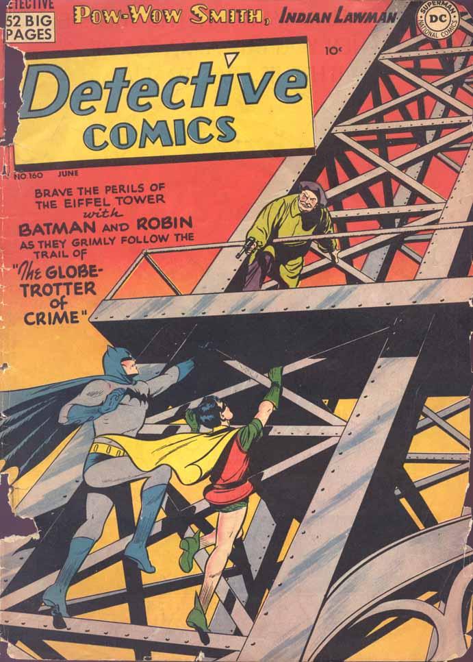 Detective Comics (1937) 160 Page 1