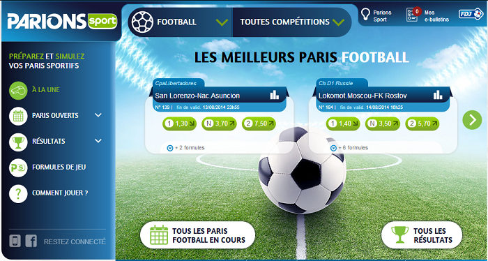 Rencontre loto foot