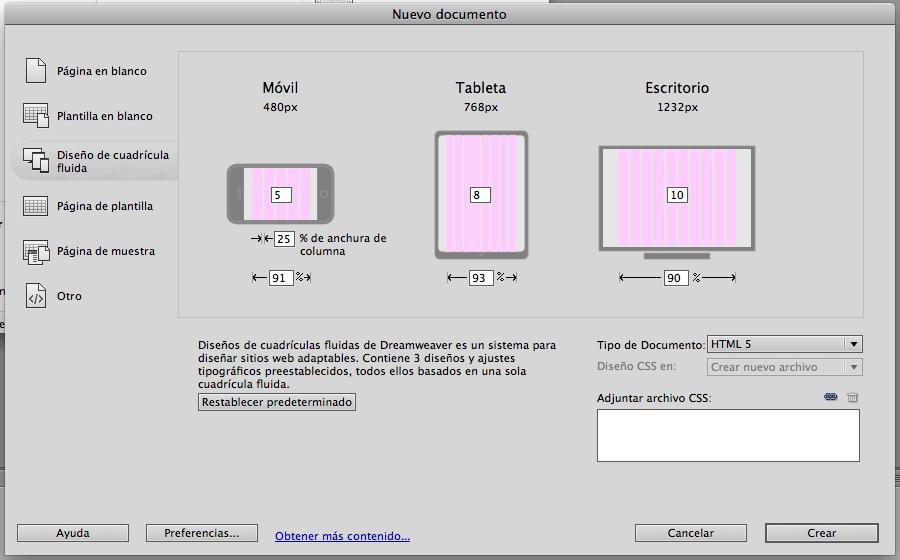 Diseño/Multimedia: Diseño sensible, adaptable, o escalable ...