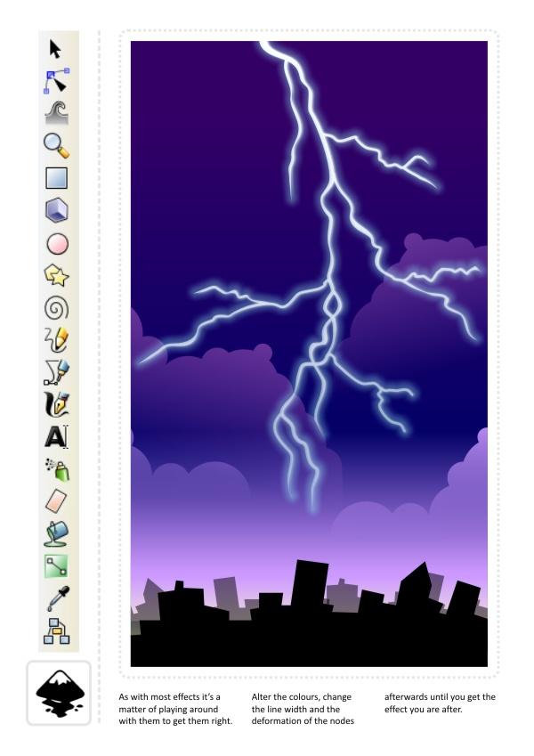 lightning strikes 2d game art for programmers