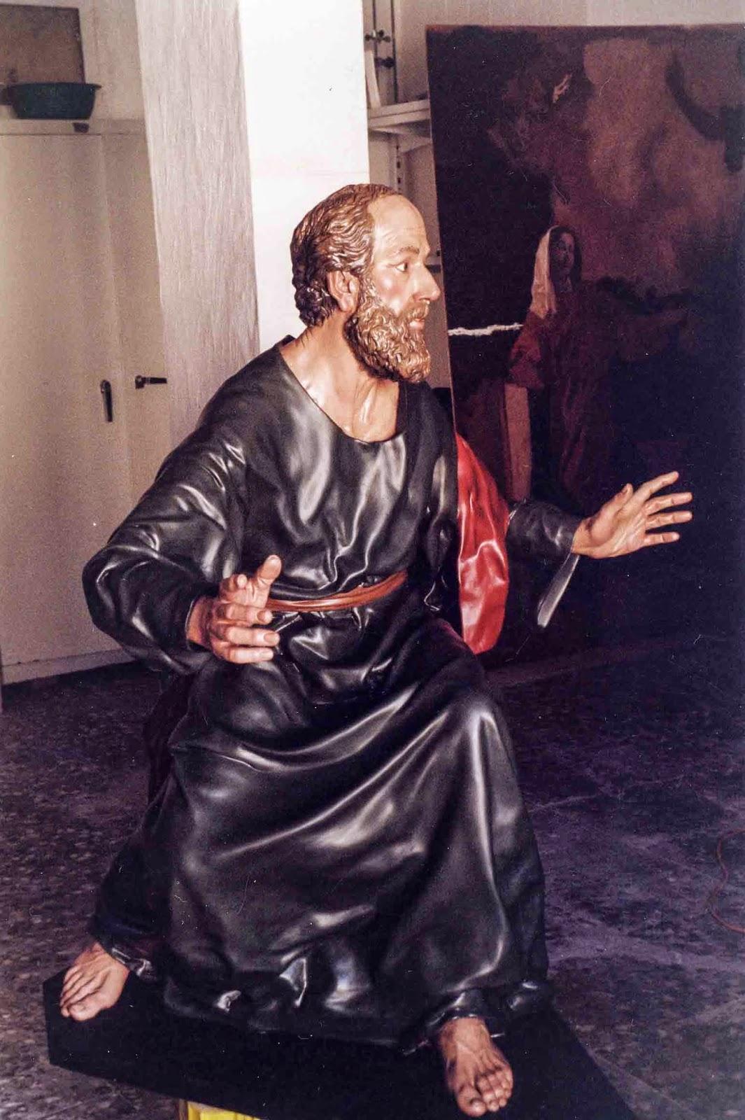 Discípulos de Emaús Semana Santa Jumilla Murcia escultura 2