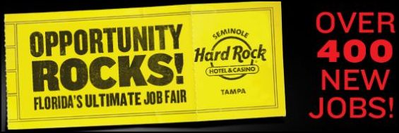 Hard rock casino tampa job fair
