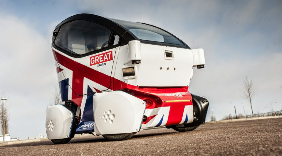 England is the Latest Country to Allow Driverless Cars on its Roads