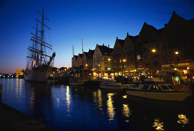 Bergen is where the sun will set upon our Norway adventure. Photo: Bergen Tourist Board / Per Nybø - visitBergen.com.