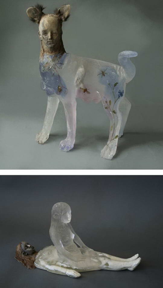 Amazing Transparent Statue