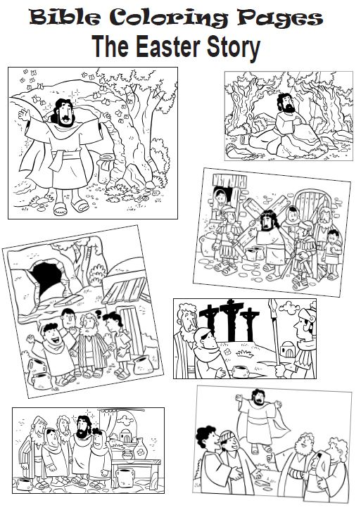 bible outline coloring pages - photo#35