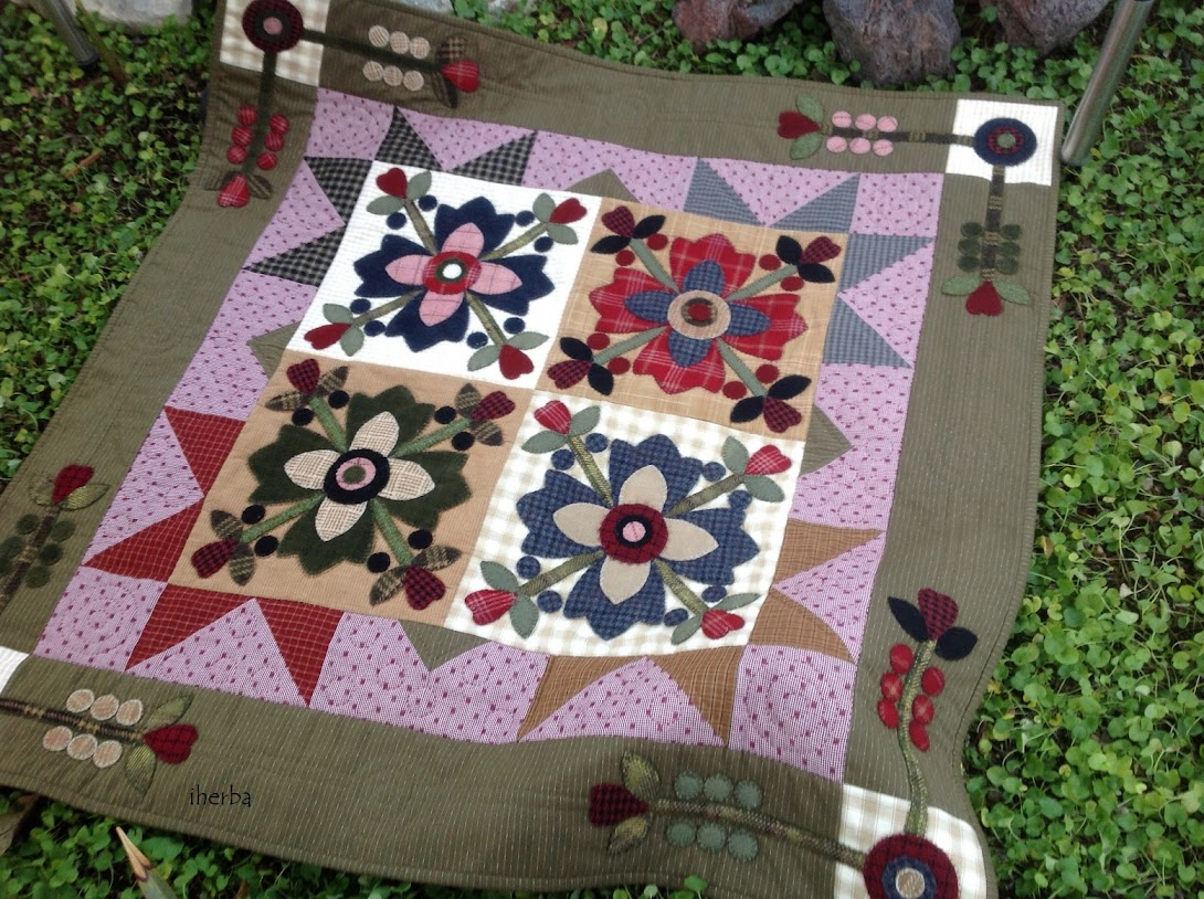 Quilt Country Vhig Rose