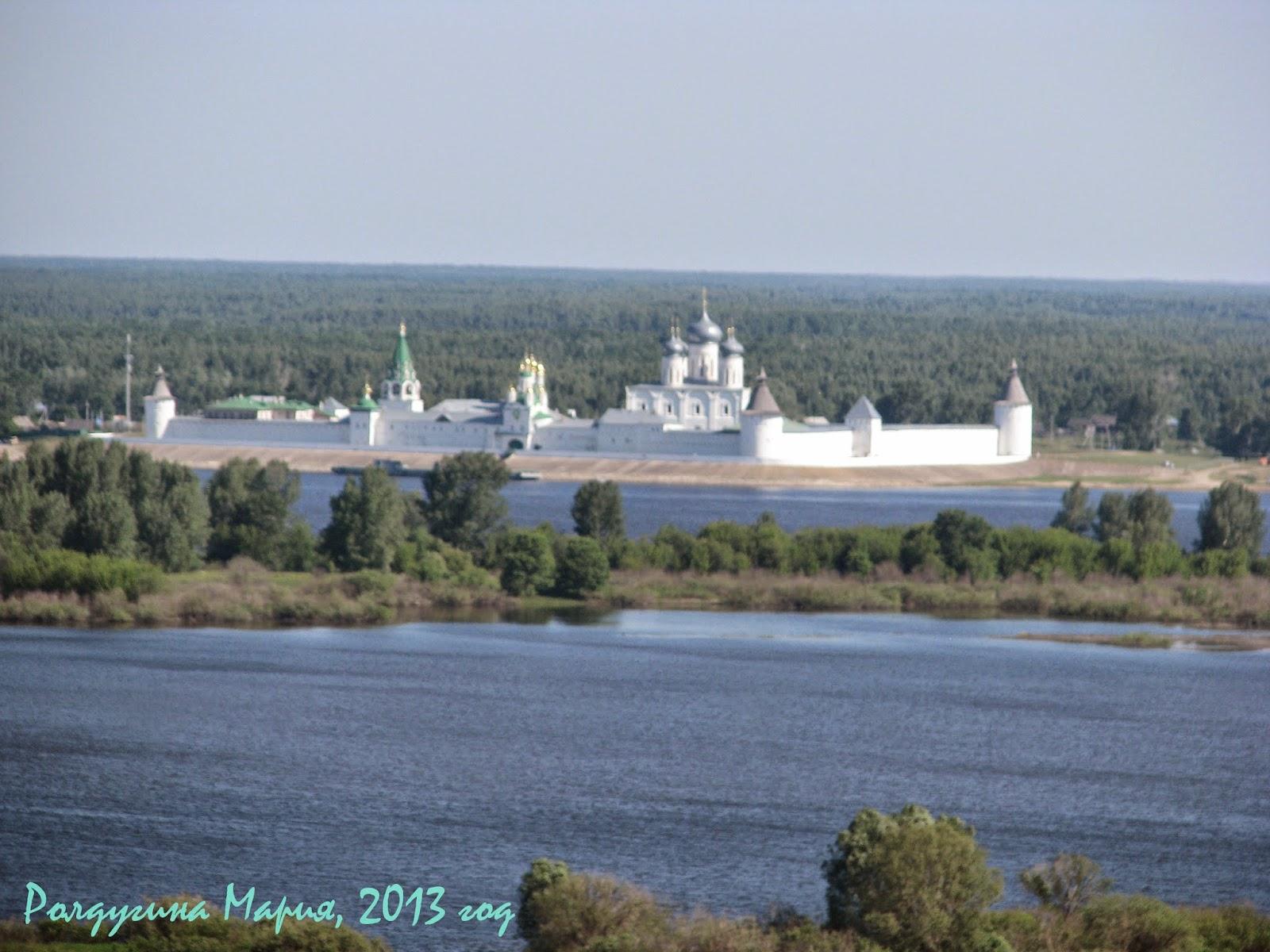 Лысково Нижегородская область Макариев монастырь
