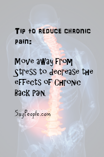 stress and chronic back pain
