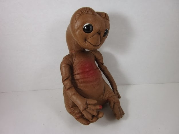 The creepy feeling of the skin on your vinyl E.T. doll