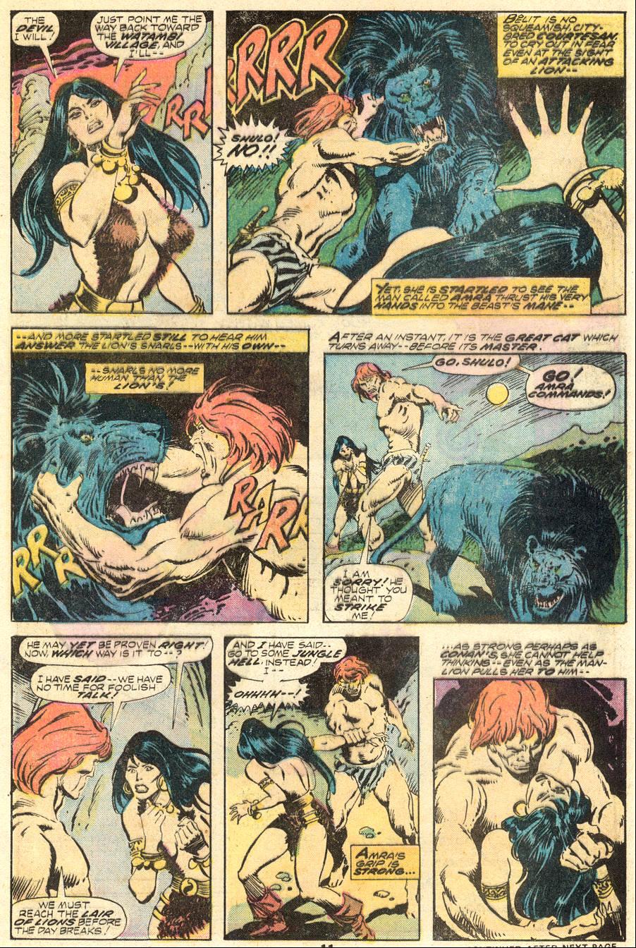 Conan the Barbarian (1970) Issue #62 #74 - English 8