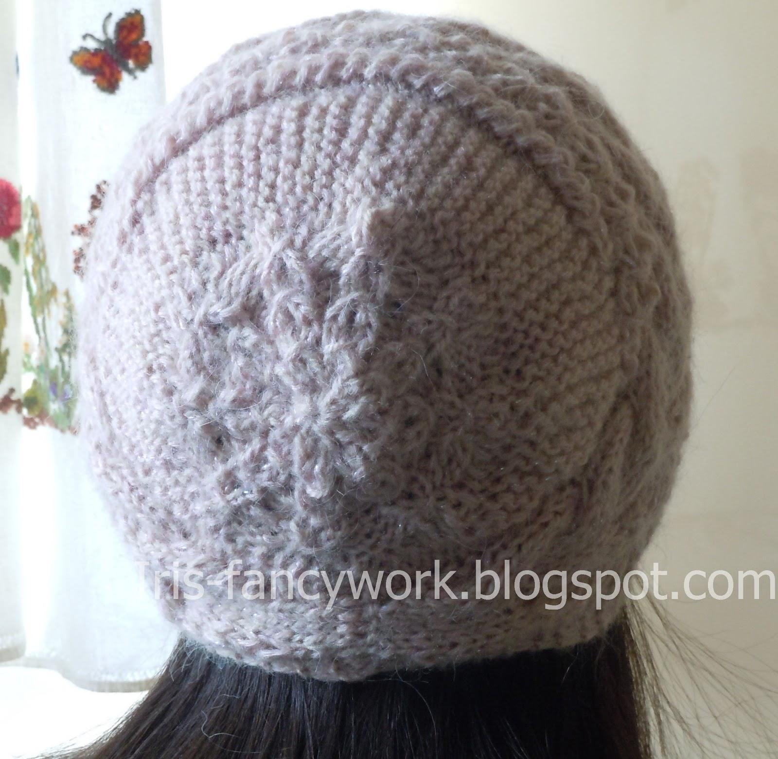 Как вязать шапку спицами с описанием и схемами, Вязание 86