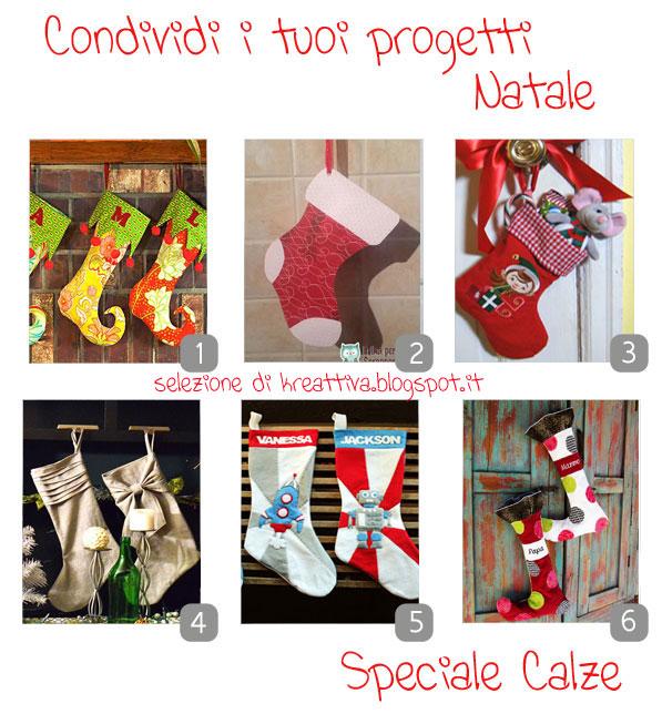 natale in festa: come realizzare delle calze per babbo natale [raccolta]