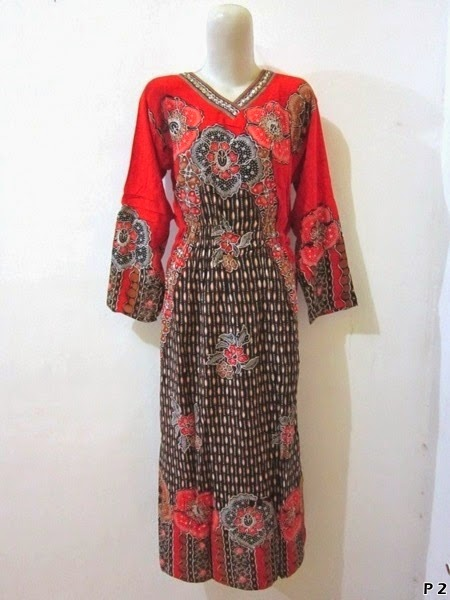Long Dress Batik Pekalongan