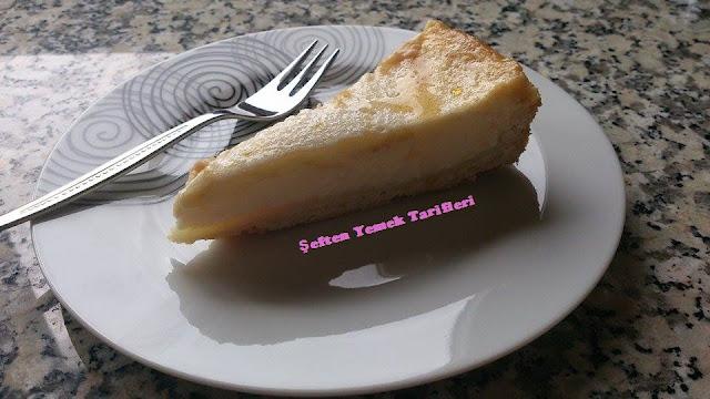 süzme yoğurtlu pasta tarifi