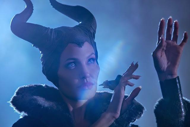 Angelina Jolie as Maleficent movie still