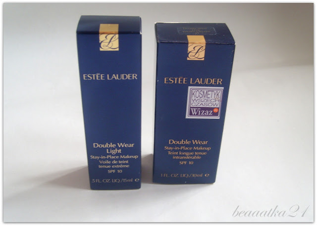 Estee Lauder Double Wear vs. Estee Lauder Double Wear Light