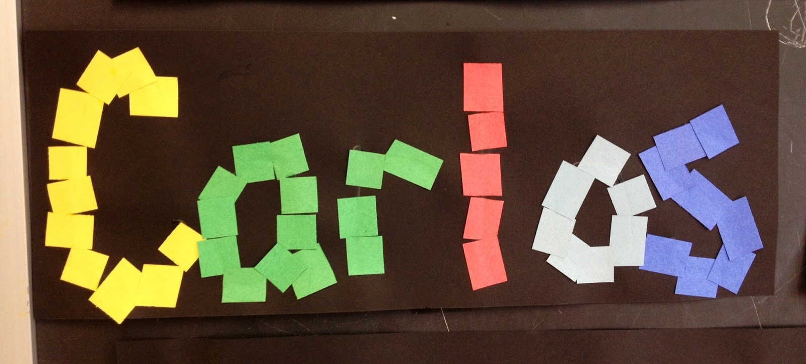Easy Preschool Name Crafts Outnumbered 3 To 1