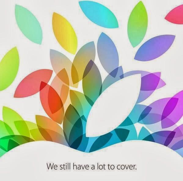 Apple event on 22 OCT