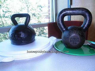 kettlebell personal trainer birthday cake