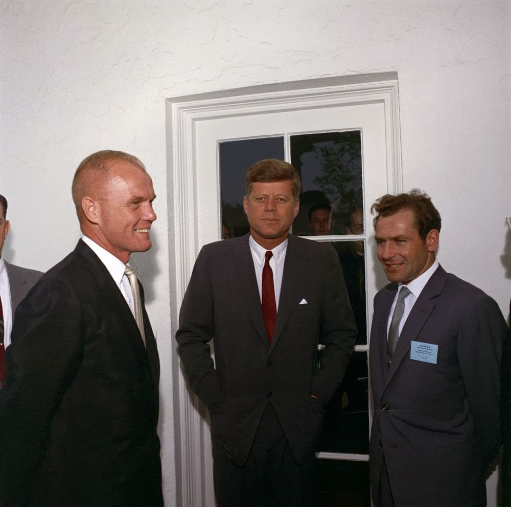 JFK and John Glenn