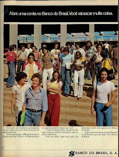 Anúncio Banco do Brasil de 1975. 1975. propaganda década de 70. Oswaldo Hernandez. anos 70. Reclame anos 70 .