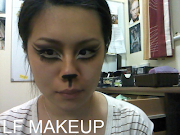 HALLOWEEN TEST RUNCAT MAKEUP