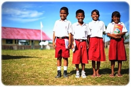 Makna Di Balik Warna Seragam Sekolah SD, SMP, SMA