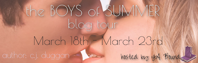 {Review+Giveaway} The Boys of Summer by CJ Duggan
