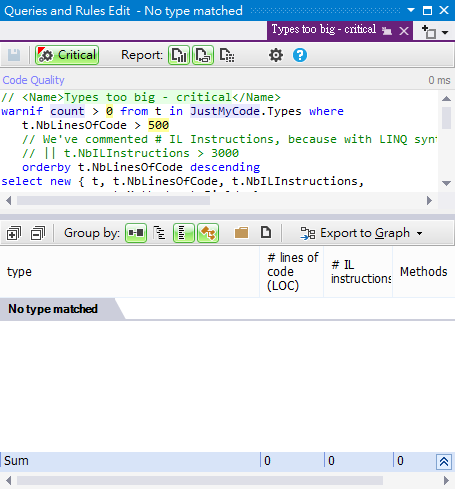 NDepend v5 practice 8