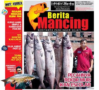 Wanto Pecahkan Rekor Muri Mancing Ikan Escolar