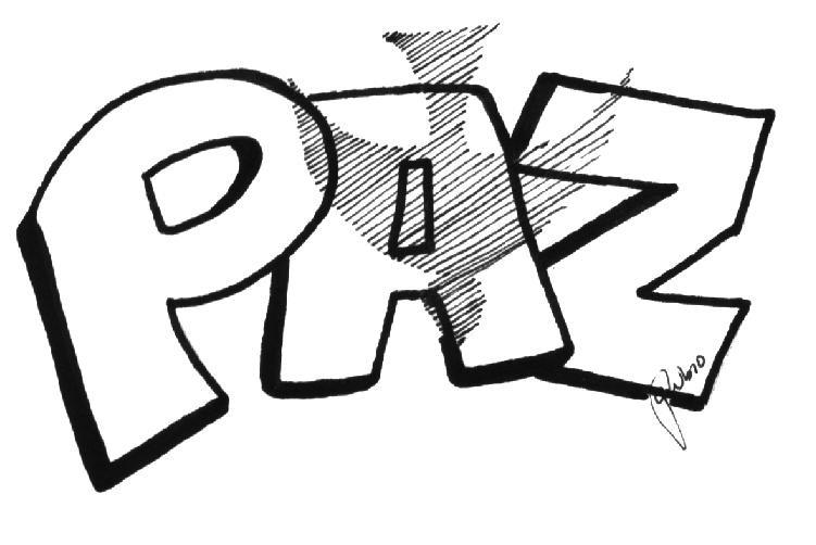 ESPECIAL DE PAZ: Letreros de Paz para colorear