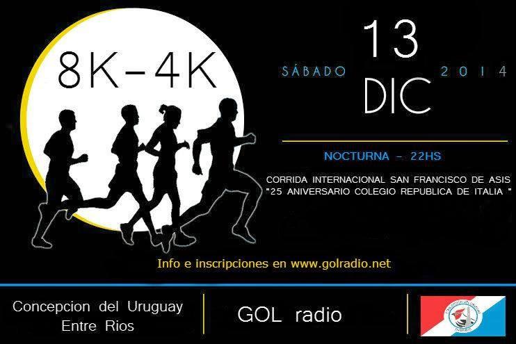 1º Maraton Nocturna Internacional ( C. del Uruguay E.R.)
